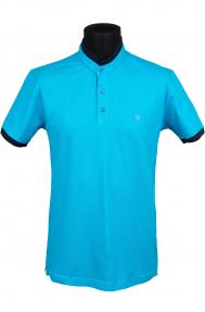 Рубашка поло FLP 0732 (голубой)