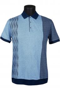 Рубашка поло Bosmenti 10020 (голубой)