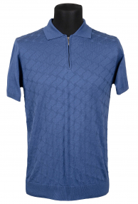 Рубашка поло Mennsler 040510 (темно-голубой)