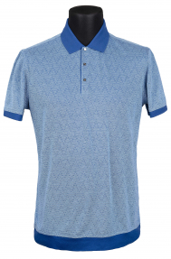 Рубашка поло Mennsler 020110 (светло-голубой)