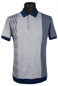 Рубашка поло Bosmenti 10020 (серая)