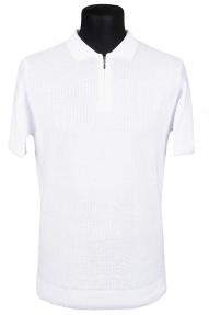 Рубашка поло Bosmenti 25202 (белая)