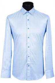 Сорочка Carduchi 1091-1CRD (бело-голубой)