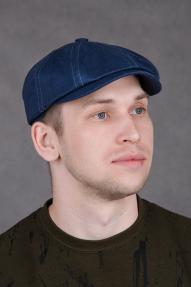Кепка AIS восьмиклинка синяя