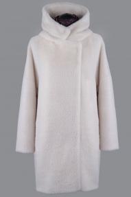 Пальто женское ZARYA GROUP F-297к (молоко)
