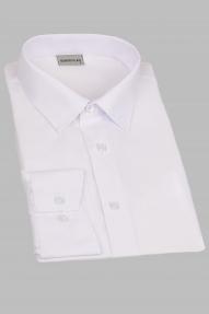 Сорочка мужская Genus Glad GP 001 FW-1(белый), приталенная