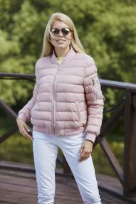 Куртка женская демисезонная SCANNDI CW 2950 (кремово-розовый)