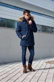 Куртка мужская утепленная SCANNDI CM19327 (синий)