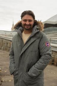 Куртка мужская утепленная SCANNDI CM19043 серый меланж