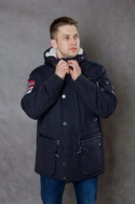 Куртка мужская демисезонная Fergo F17-0510 синяя