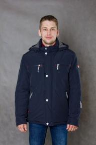 Куртка мужская VIZANI 10625 Флис (синяя)