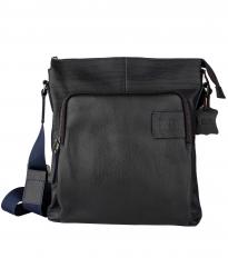 Мужская сумка Alexander-ts P0012 Biue (Черный)
