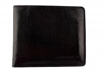 Мужское портмоне Alexander-ts PR004 Black (Черный)