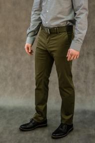 Мужские брюки Delspiga&Trousers 9234 (хаки)