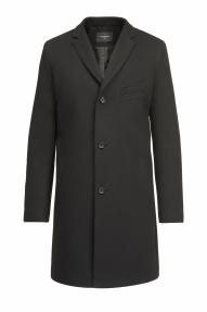 Пальто демисезонное молодёжное «Alexander» М-209 (черный)