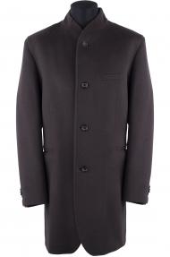 Пальто мужское демисезонное «Alexander» М-212 (коричневое)