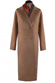 Пальто женское ZARYA GROUP M-572 (кэмел)