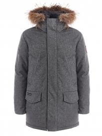 Куртка мужская утепленная SCANNDI DM 19043 серый меланж