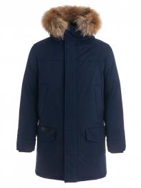 Куртка мужская утепленная SCANNDI DM 19043 черно-синий