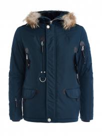 Куртка мужская SCANNDI DM19098a тёмно-бирюзовый