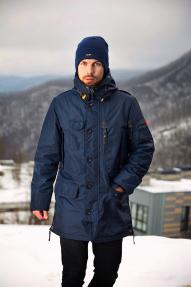Куртка мужская утепленная SCANNDI DM19023 темно-синяя