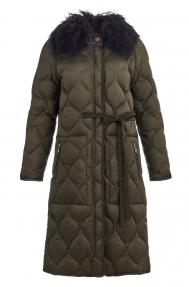 Куртка женская Scanndi DM19028 (оливковый)