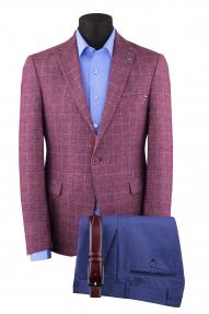 Пиджак мужской DCS 5203007 (светло-бордовый)