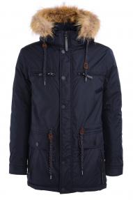 Куртка мужская Scanndi DW19151 (темно-синий)