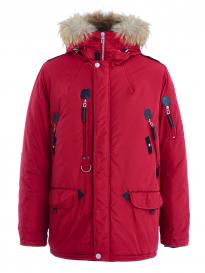 Куртка мужская SCANNDI DM19098a красный