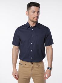 Рубашка мужская VELOCITY V258-08MS-06 (тёмно-синий)