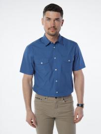 Рубашка мужская VELOCITY V48-66MS-06 (голубой)