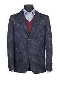 Мужской пиджак Carducci С3101838 (Синий)