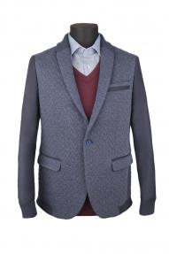 Пиджак мужской Curducci С7174204 (темно-синий)