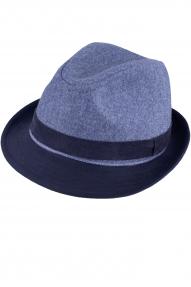 Шляпа AIS COLLEZIONI ШЛ4 Puff (серо-голубой)