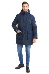 Куртка муж. Scanndi DM 2031 (Синий)