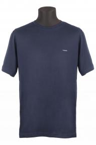 Футболка мужская VIGOSS B3124-03370 2020 (Тёмно-синий) Батал