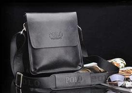 Кожаные мужские сумки. Модные новинки