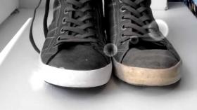 Как очистить подошву кроссовок?