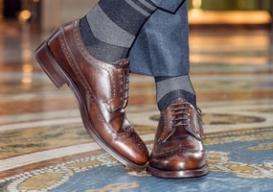 Носки — немаловажный аксессуар модного мужчины